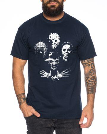 Horro Icons - Men's T-Shirt Halloween Michael Horror Myers Pennywise Man 13 Jason Voorhees Nightmare – Bild 2