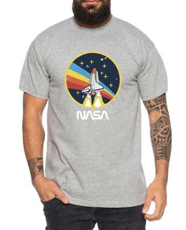 Nasa Retro - Men's T-Shirt Astronaut Space Rocket Moon Insignia Space Raumfahrt Astronaut Nerd  – Bild 6