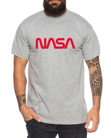 Nasa Worm - Men's T-Shirt Astronaut Space Rocket Moon Insignia Space Raumfahrt Astronaut Nerd  – Bild 4