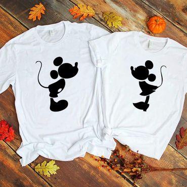 Kiss - Partner T-Shirt Ladies and Gentlemen - 2 Pieces - Couple Shirt Gift Set for Lovers - Partner Gifts - Best Birthday Gift - Partner Look – Bild 4