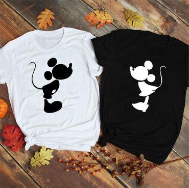 Kiss - Partner T-Shirt Ladies and Gentlemen - 2 Pieces - Couple Shirt Gift Set for Lovers - Partner Gifts - Best Birthday Gift - Partner Look – Bild 3