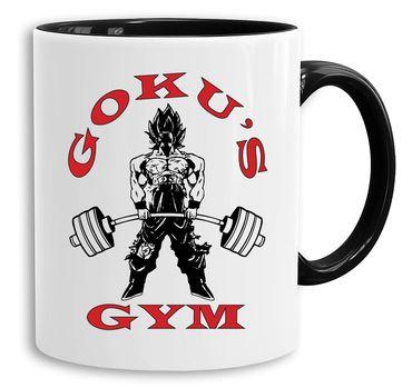 Goku Golds - Cup coffee pot Gift Son Ruffy Luffy Zoro Saitama One Dragon Master Goku Ball Vegeta Roshi Piece Db – Bild 1
