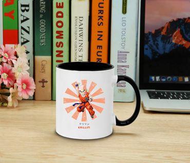 Krillin Star - Cup coffee pot Gift Son Ruffy Luffy Zoro Saitama One Dragon Master Goku Ball Vegeta Roshi Piece Db – Bild 2