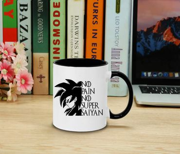 NPNSS - Cup coffee pot Gift Son Ruffy Luffy Zoro Saitama One Dragon Master Goku Ball Vegeta Roshi Piece Db – Bild 2
