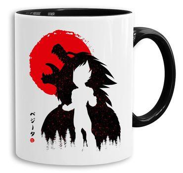 Red Sun Vegeta - Cup coffee pot Gift Son Ruffy Luffy Zoro Saitama One Dragon Master Goku Ball Vegeta Roshi Piece Db – Bild 1
