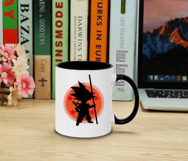 Sonball - Cup coffee pot Gift Son Ruffy Luffy Zoro Saitama One Dragon Master Goku Ball Vegeta Roshi Piece Db – Bild 2