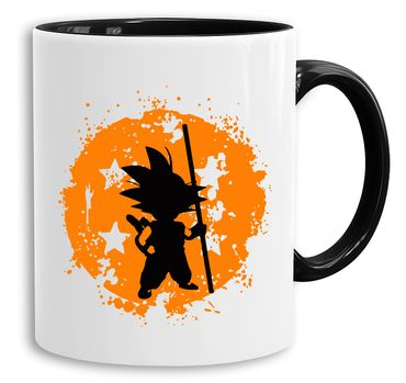 Sonbruch - Cup coffee pot Gift Son Ruffy Luffy Zoro Saitama One Dragon Master Goku Ball Vegeta Roshi Piece Db – Bild 1