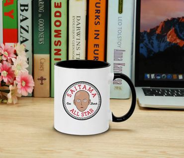 All Saitama Star -  Cup coffee pot Gift Son One Punch Luffy Naruto Saitama One Dragon Goku Ball Piece Man Db – Bild 2