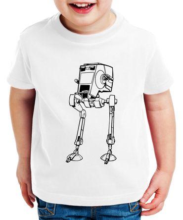 AT-AT - Partner - T-Shirt Vater Sohn Papa Kind Baby Strampler Body – Perfektes Geschenk – Partnerlook  – Bild 4