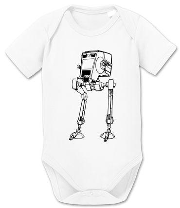 AT-AT - Partner - T-Shirt Vater Sohn Papa Kind Baby Strampler Body – Perfektes Geschenk – Partnerlook  – Bild 6