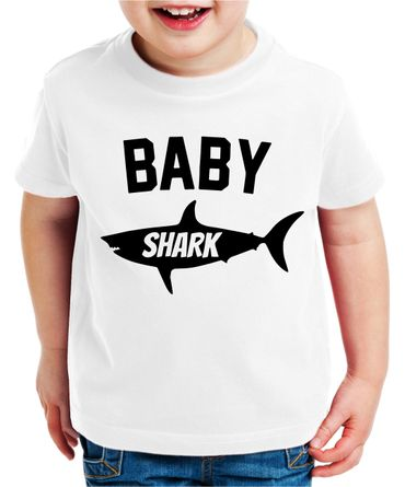 Daddy Shark - partner t-shirt father son Papa Daddy child baby body - perfect gift - partner look – Bild 5