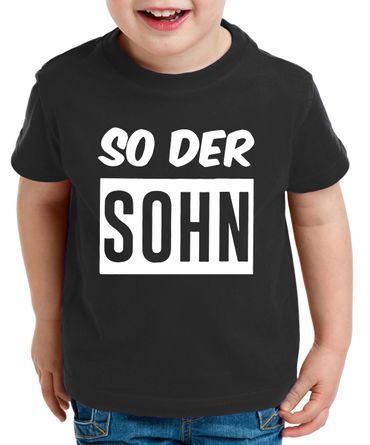 Wie der Vater so der Sohn - Partner - T-Shirt Papa Kind Baby Strampler Body – Perfektes Geschenk – Partnerlook  – Bild 4