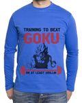 Train to beat Goku Men's Long sleeve 001