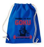 Train to beat Goku Gym Bag Turnbeutel 001