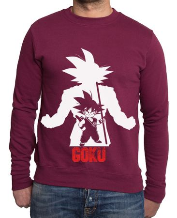 Over Goku Men's Sweatshirt