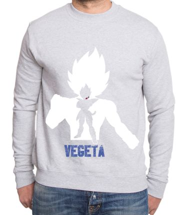 Over Vegeta Herren Sweatshirt