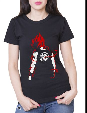 Super Saiyajin Damen T-Shirt – Bild 6