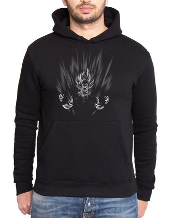 Scream Son Goku Men's Hoodie