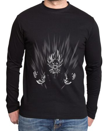 Scream Son Goku Herren Long sleeve