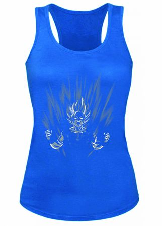Scream Son Goku Damen Tank Top – Bild 5