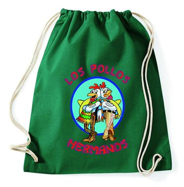 Los Pollos Gym Bag Turnbeutel – Bild 3