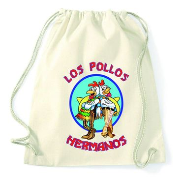 Los Pollos Gym Bag Turnbeutel – Bild 4