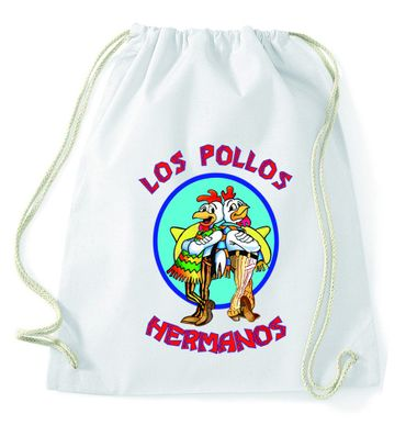 Los Pollos Gym Bag Turnbeutel – Bild 6