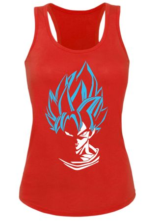 Super Son Goku Damen Tank Top – Bild 2