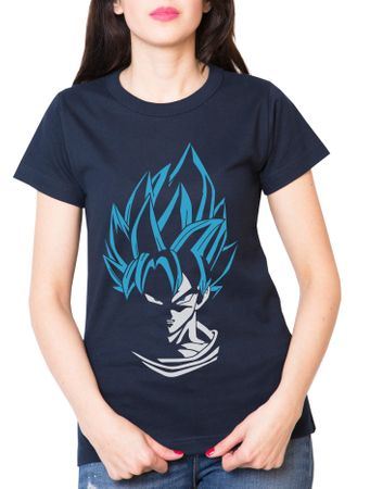 Super Son Goku Damen T-Shirt – Bild 4