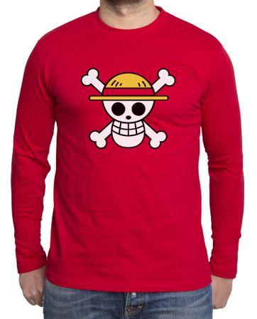 Ruffy Straw Hat Logo Herren Long sleeve – Bild 5