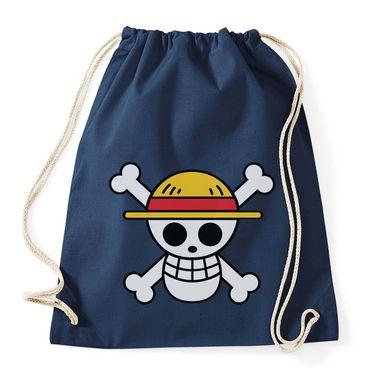 Ruffy Straw Hat Logo Gymnastics Gym Bag – Bild 2
