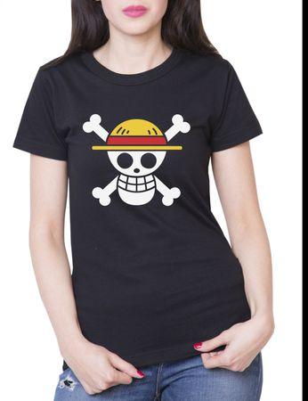 Ruffy Straw Hat Logo Damen T-Shirt