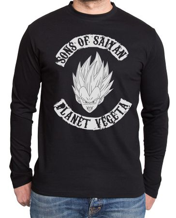 Planet Vegeta Herren Long sleeve