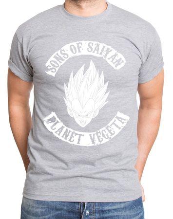 Planet Vegeta Men's T-Shirt – Bild 3