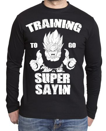 Train Super Sayin Herren Long sleeve