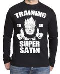 Train Super Sayin Herren Long sleeve 001