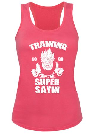 Train Super Sayin Damen Tank Top – Bild 3