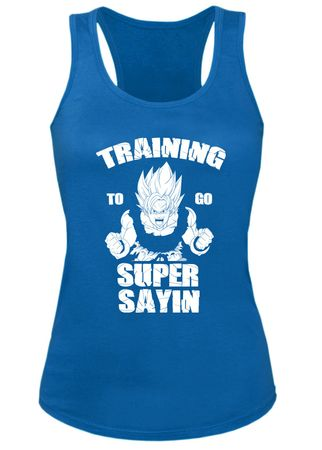 Train Super Sayin Damen Tank Top – Bild 2