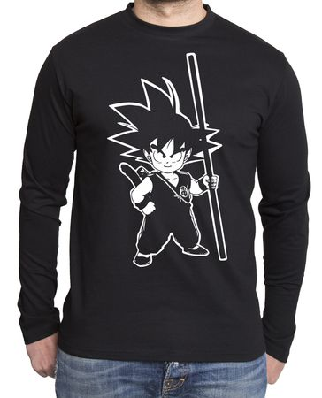 Son Goku Herren Long sleeve