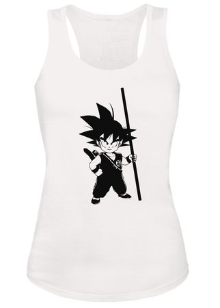 Son Goku Damen Tank Top – Bild 2