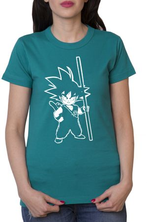 Son Goku Damen T-Shirt – Bild 3