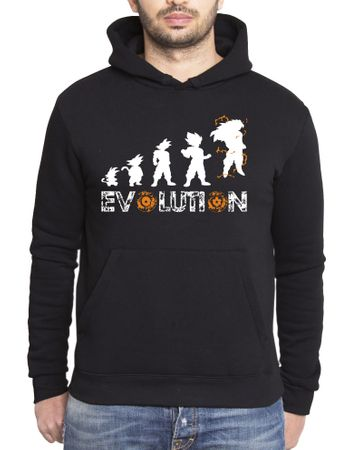 Son Goku Evolution Men's Hoodie