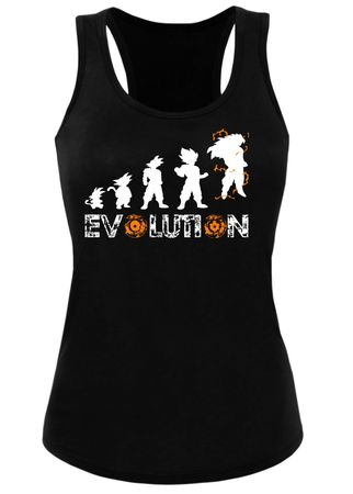 Son Goku Evolution Damen Tank Top – Bild 1