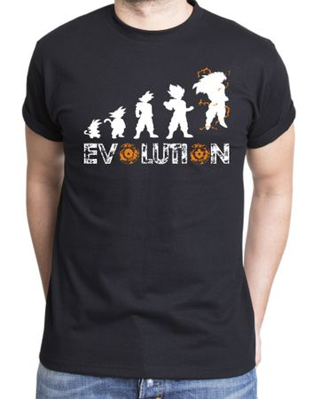 Son Goku Evolution Men's T-Shirt