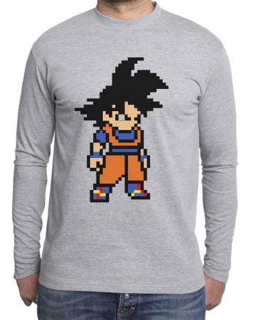 Goku Bit Men's Long sleeve – Bild 2