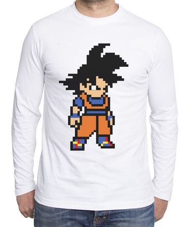 Goku Bit Men's Long sleeve – Bild 1