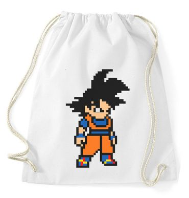 Goku Bit Gym Bag Turnbeutel – Bild 2