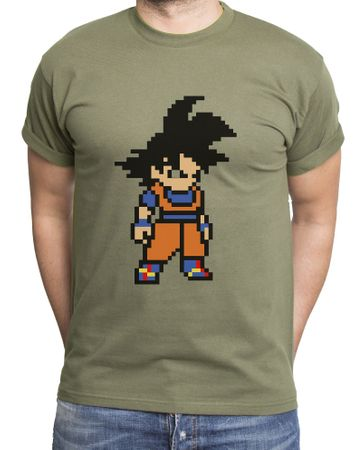 Goku Bit Men's T-Shirt – Bild 4