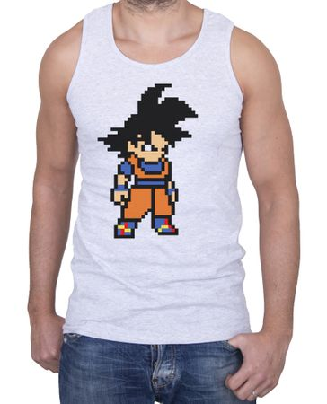 Goku Bit Men's Tank Top – Bild 1
