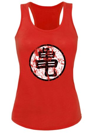 Goku Sign Damen Tank Top – Bild 1